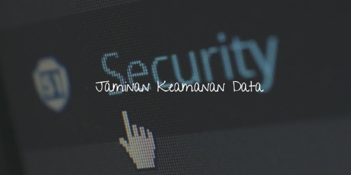 jaminan keamanan data